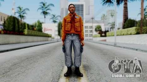 CS 1.6 Hostage 04 para GTA San Andreas segunda tela