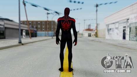 Marvel Future Fight Spider Man Miles v2 para GTA San Andreas terceira tela