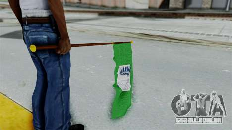 Attack On Titan Survey Crops Flag para GTA San Andreas terceira tela
