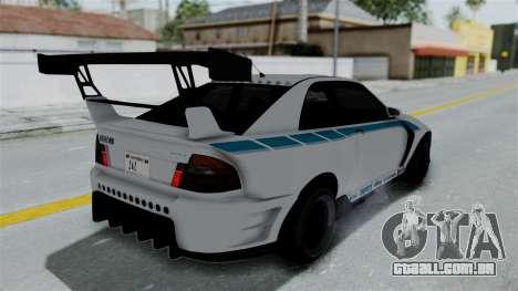 GTA 5 Karin Sultan RS Drift Double Spoiler PJ para o motor de GTA San Andreas