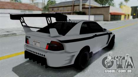 GTA 5 Karin Sultan RS Drift Double Spoiler PJ para vista lateral GTA San Andreas