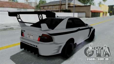 GTA 5 Karin Sultan RS Drift Double Spoiler PJ para vista lateral GTA San Andreas