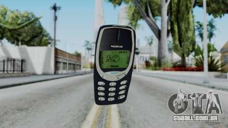 Nokia 3310 Grenade para GTA San Andreas