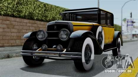 GTA 5 Albany Roosevelt Valor IVF para GTA San Andreas