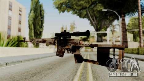 Dragunov Elite para GTA San Andreas segunda tela