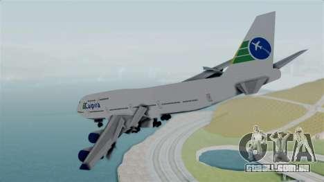 GTA 5 Jumbo Jet v1.0 Caipira Air para GTA San Andreas vista direita