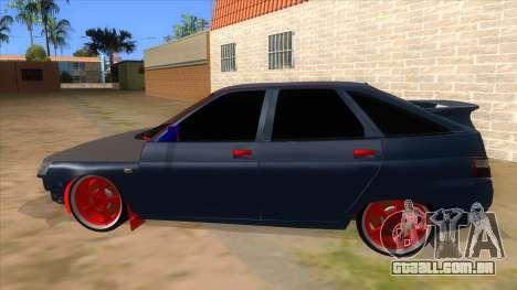 VAZ 2112 Hobo para GTA San Andreas esquerda vista