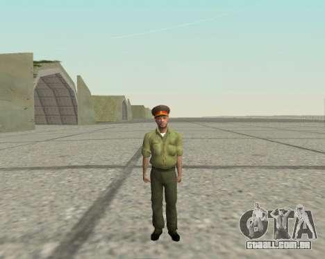 Oficial das forças armadas da Federação russa para GTA San Andreas segunda tela