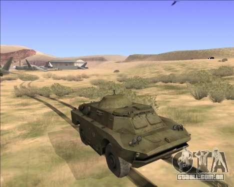 BRDM-2ЛД para GTA San Andreas vista direita