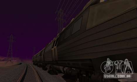 Batman Begins Monorail Train Vagon v1 para o motor de GTA San Andreas