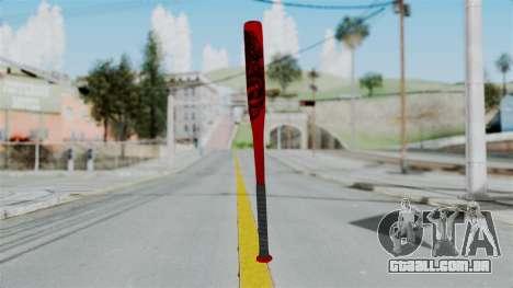 GTA 5 Baseball Bat 2 para GTA San Andreas terceira tela