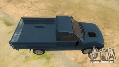Dacia 1305 Drop-Side para GTA San Andreas vista interior
