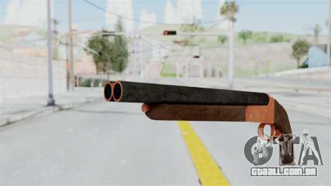 Double Barrel Shotgun Orange Tint (Lowriders CC) para GTA San Andreas segunda tela