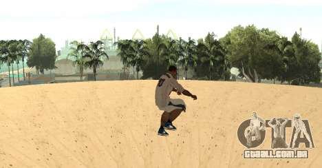 Invisibile BMX para GTA San Andreas terceira tela