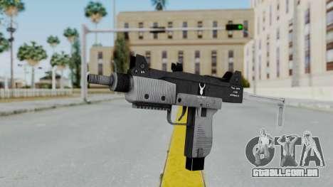 GTA 5 Micro SMG - Misterix 4 Weapons para GTA San Andreas segunda tela