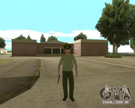 Sênior mandado de oficial de danyluk para GTA San Andreas segunda tela