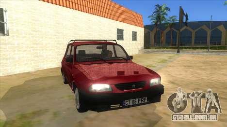 Dacia 1310L 1999 para GTA San Andreas vista traseira