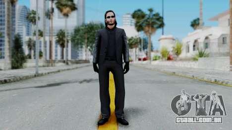 John Wich - Payday 2 para GTA San Andreas segunda tela