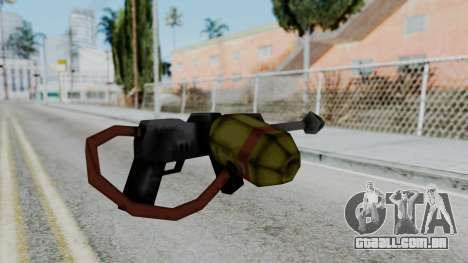 GTA 3 Flame Thrower para GTA San Andreas segunda tela