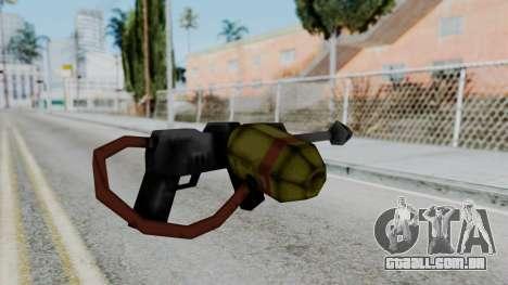 GTA 3 Flame Thrower para GTA San Andreas segunda tela