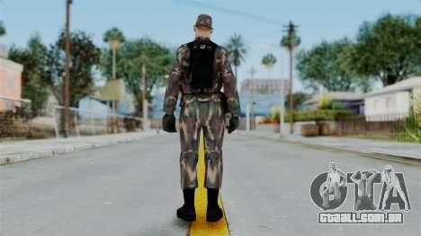 MH x Hungarian Army Skin para GTA San Andreas terceira tela