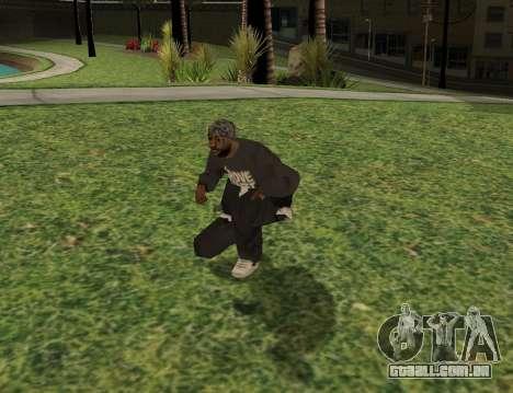Black fam1 para GTA San Andreas terceira tela