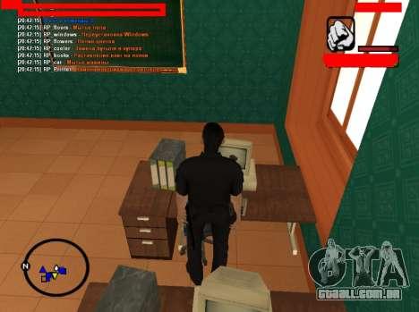 RolePlay empregos para GTA San Andreas terceira tela