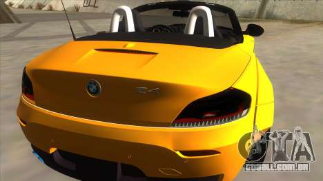 BMW Z4 Liberty Walk Performance para GTA San Andreas vista direita