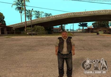 Sidorovich do S. T. A. L. K. E. R para GTA San Andreas