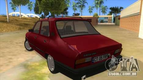 Dacia 1310L 1999 para GTA San Andreas traseira esquerda vista