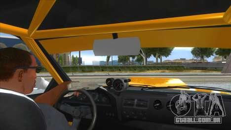 GTA V Karin Sultan RS 4 Door para GTA San Andreas vista superior