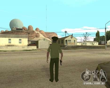 Sênior mandado de oficial de danyluk para GTA San Andreas terceira tela