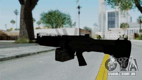 GTA 5 Combat MG para GTA San Andreas terceira tela