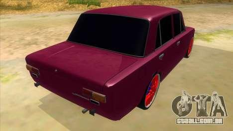 VAZ 2101 Cão para GTA San Andreas vista direita
