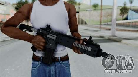 GTA 5 Carbine Rifle para GTA San Andreas terceira tela