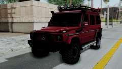 Mercedes-Benz G500 Off-Road v2.0 para GTA San Andreas