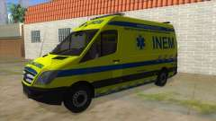 Mercedes-Benz Sprinter INEM Ambulance para GTA San Andreas