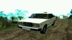 VAZ 2107 de Táxi