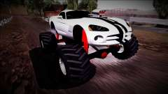Dodge Viper SRT10 Monster Truck para GTA San Andreas
