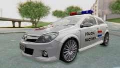 Opel-Vauxhall Astra Policia para GTA San Andreas