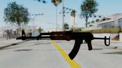 New HD AK-47 para GTA San Andreas