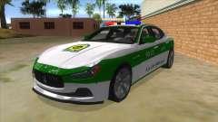 Maserati Iranian Police