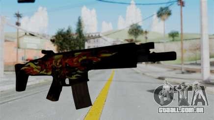 SCAR-L Extra PJ para GTA San Andreas