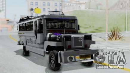 Jeepney Philippines para GTA San Andreas