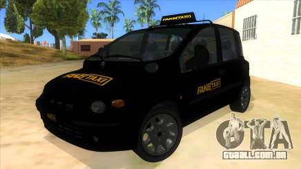 Fiat Multipla FAKETAXI para GTA San Andreas