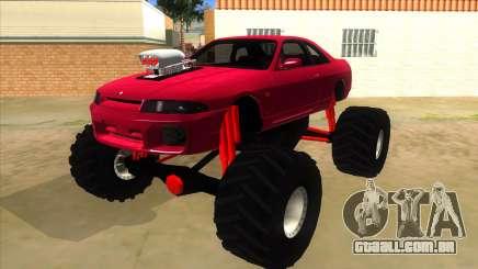 Nissan Skyline R33 Monster Truck para GTA San Andreas