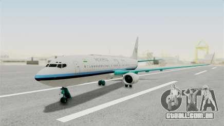 Boeing 737-800 Business Jet Indian Air Force para GTA San Andreas