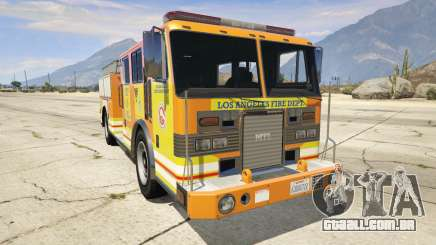 Los Angeles Fire Truck para GTA 5