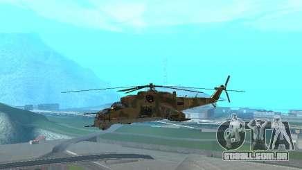 Um Mi-24 De Crocodilo para GTA San Andreas
