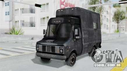 A van da polícia, a partir de RE Outbreak para GTA San Andreas